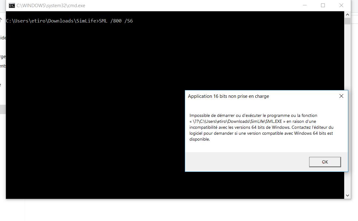 PROBLEME Sim Life Windows 10 - Abandonware Forums