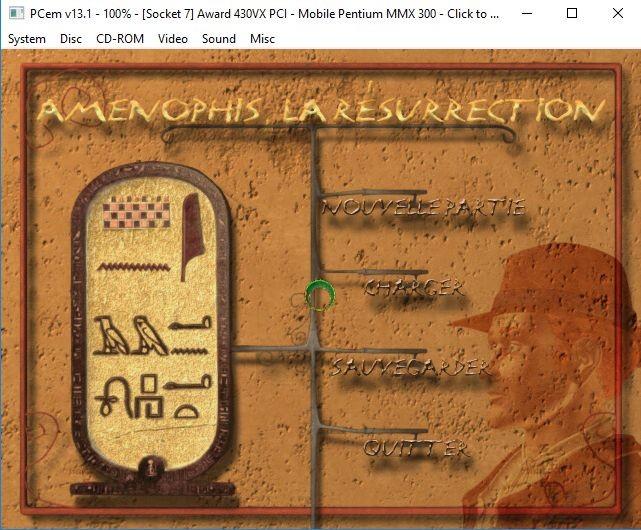 Amenophis La résurrection - Abandonware Forums